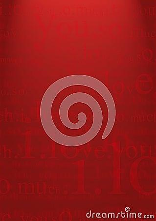 Free Valentine I Love You Background Stock Photo - 1667810