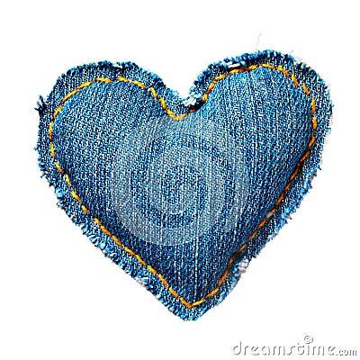 Valentine jeans heart