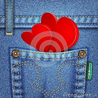 Valentine Jeans Texture