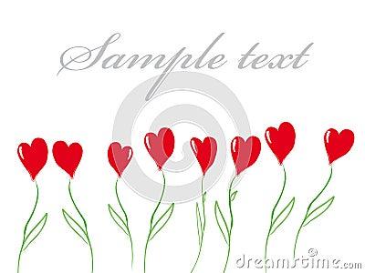 Valentine layout
