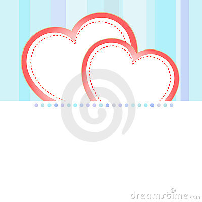 Valentine love heart romantic birthday background