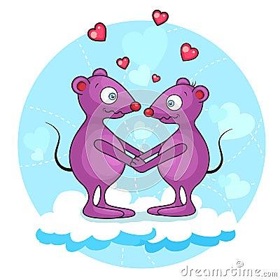 Valentine mouse