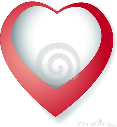 Valentine Red Heart Royalty Free Stock Photos - Image: 8070488