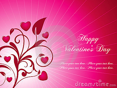 Valentine s background