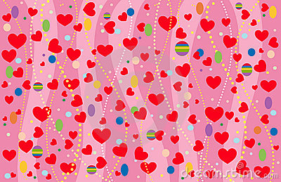 The Valentine s background.
