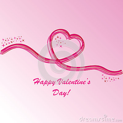 Valentine s background with heart