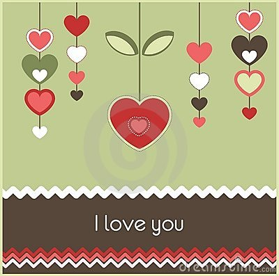Valentine's Card Royalty Free Stock Images - Image: 23043739