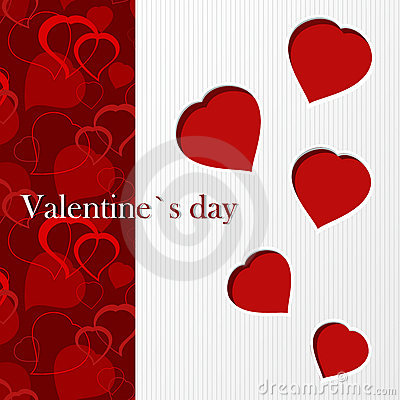 Valentine`s card - I love you