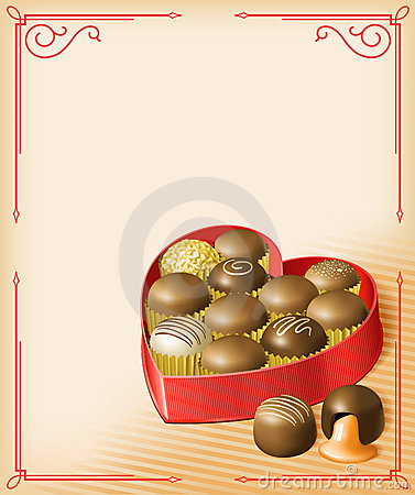Free Valentine S Chocolates Stock Photo - 17215390
