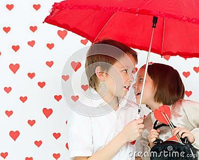 Valentine s concept