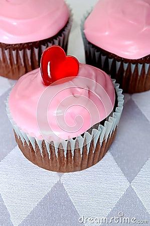 Free Valentine S Cupcakes Stock Photography - 1733762