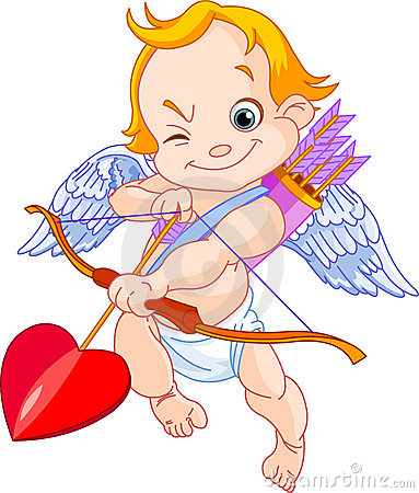 Free Valentine S Cupid Royalty Free Stock Photography - 17860187