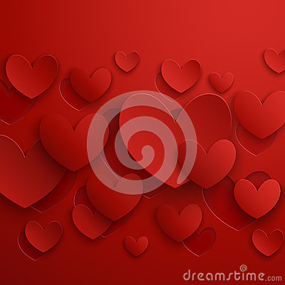 Free Valentine`s Day Abstract Background. Royalty Free Stock Photo - 28740675