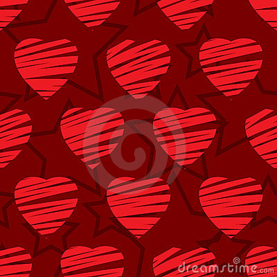 Valentine s day abstract seamless background