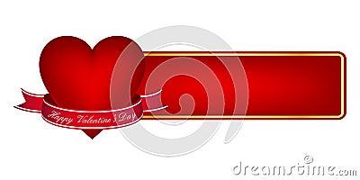 Valentine s day banner