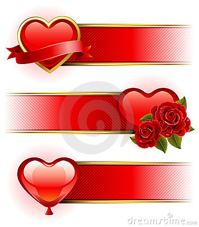 Valentine s Day  banners