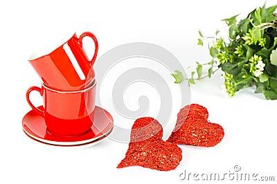 Valentine s Day Breakfast Decoration