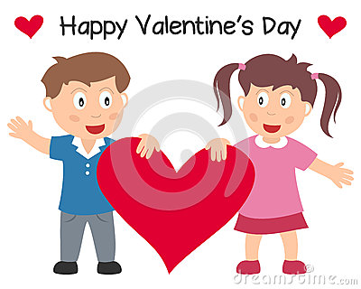 Valentine s Day Couple with Heart