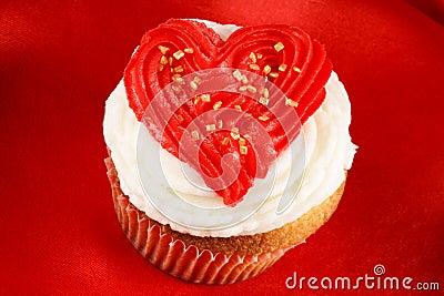 Valentine s day cupcake