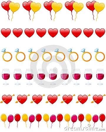 Valentine s Day Dividers Set