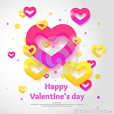 Free Valentine`s Day. February 14. Royalty Free Stock Photos - 84600738
