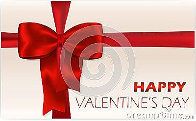 Valentine s day gift card