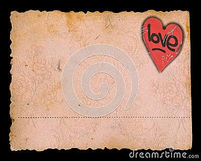 Valentine s day grunge background