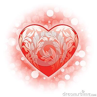 Valentine s day Heart background