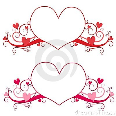 Valentine s Day Heart Logo or Labels