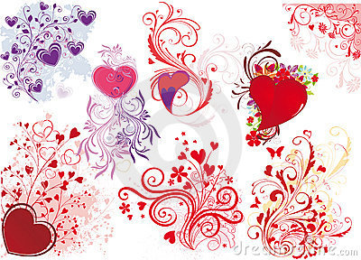 Valentine s day illustrations