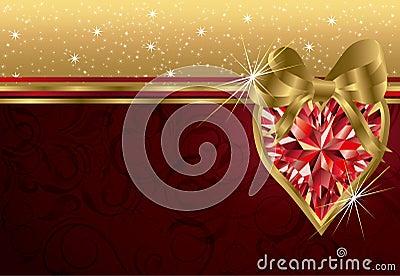Valentine s day invitation card