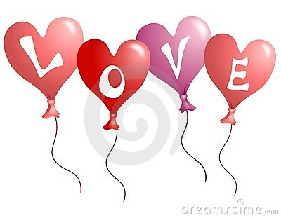 Valentine s Day Love Heart Shaped Balloons