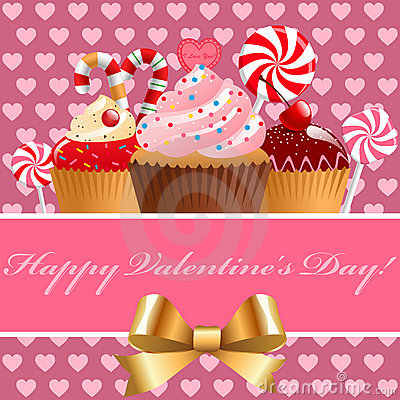 Valentine s day pastry and sweets.