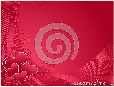 Valentine s day postcard, Vector