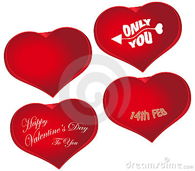 Valentine s Day Red Heart Shape Love Symbol