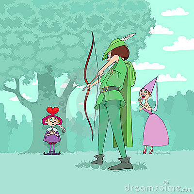 Valentine s Day of Robin Hood