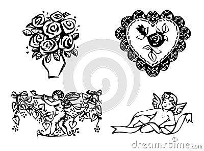 Valentine s day set