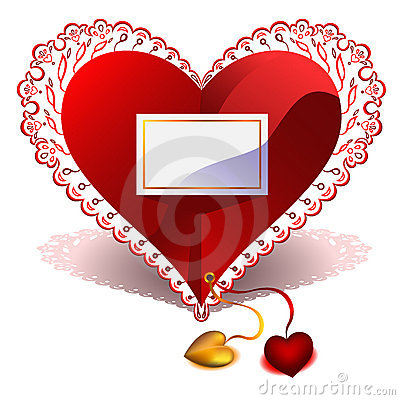 Valentine s Day vector greeting card