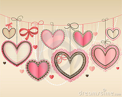 Valentine`s Day vintage