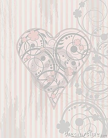 Valentine s day vintage card