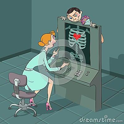 Valentine s Day X-ray observe