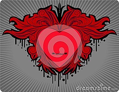 Valentine s design element