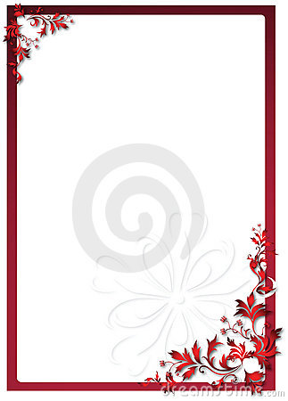 Free Valentine S Floral Frame Royalty Free Stock Photos - 10838978