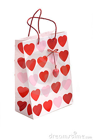 Valentine S Gift Bag Royalty Free Stock Photos Image