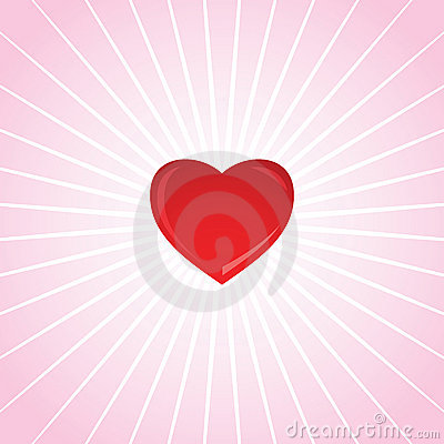 Valentine s Heart Shining