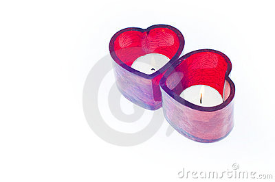 Valentine s love candle