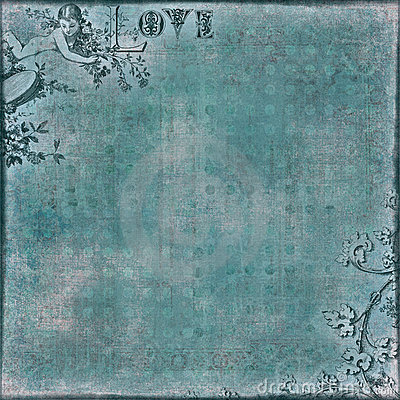 Valentine s Love Scrapbook Background