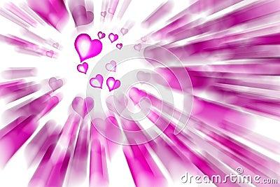 Valentine s pink Hearts
