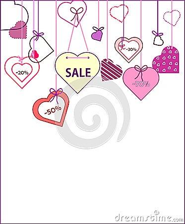 Free Valentine Sales Stock Photo - 12525970
