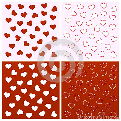Free Valentine Seamless Backgrounds Royalty Free Stock Photography - 36727227